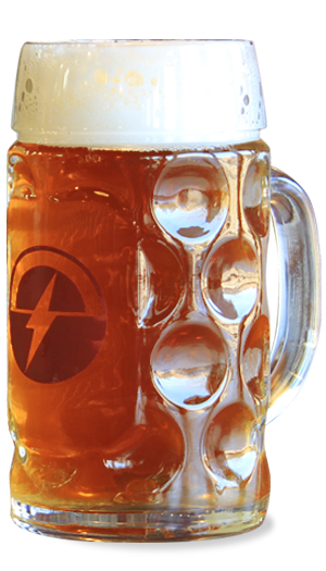 Full glass of OKTOBERFEST