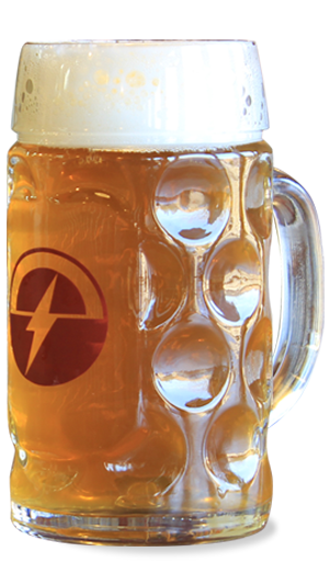 Full glass of Maibock