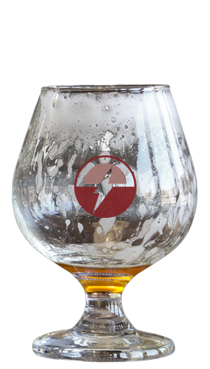 Empty glass of General Resin (Hazy/NE Style Variant)